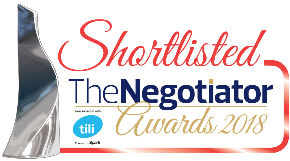 The Negotiator Awards 2018 Shortlist